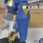 1/144 HG改造 MS-07B マ・クベ専用グフ製作日誌(20日目)シールドの組立て