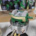 1/144 HG改造 MS-09R ドズル・ザビ専用ドム製作日誌(23日目)ゴールド塗装