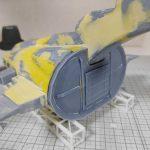 3Dプリンター ムサイ改型ワルキューレ 製作日誌(34日目)モビルスーツハッチの造形