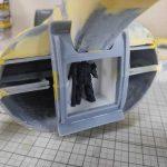 3Dプリンター ムサイ改型ワルキューレ 製作日誌(35日目)モビルスーツデッキの工作