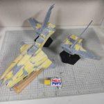 3Dプリンター ムサイ改型ワルキューレ 製作日誌(37日目)機関部分の表面処理と全体仮組み