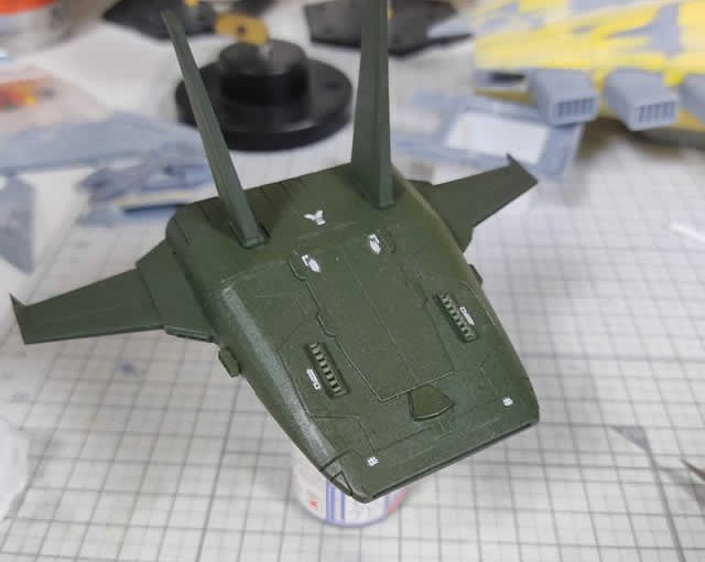 3Dプリンター ムサイ改型ワルキューレ 製作日誌(44日目)コムサイの完成