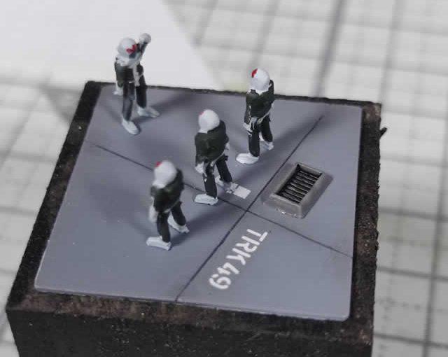 100円ショップのアイテムで作成するヴィネット台
