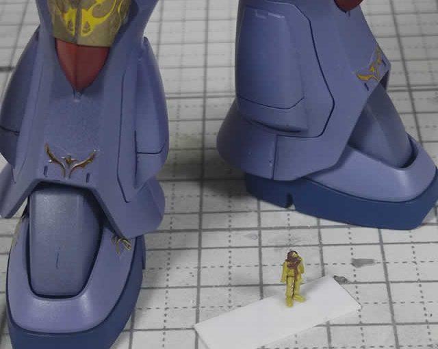 3Dプリンター 1/144 ジオン兵 ノーマルスーツ 製作日誌(番外編)マ・クベ中将を作成