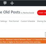 Revive Old Postsの最小間隔が5時間になってしまったので過去記事のツイート機能を自作した