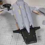 3Dプリンター ムサイ改型ワルキューレ 製作日誌(55日目)船首パーツのディティールアップ
