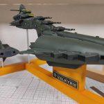 3Dプリンター ムサイ改型ワルキューレ 製作日誌(69日目)台座の塗装